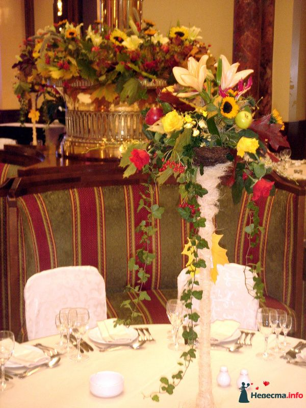 Фото 107406 в коллекции Звёздная свадьба. Ресторан Метрополь - Флорист-декоратор Янина Венгерова