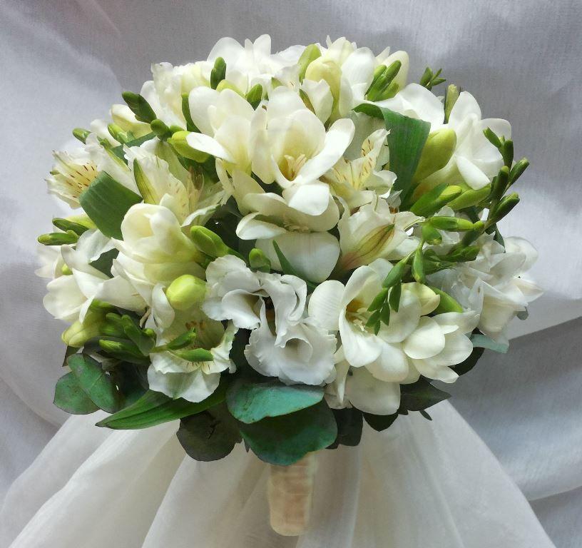 Свадебные букеты, альстромерия букет невесты фото
