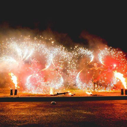 Огненно-пиротехническое шоу Immagine