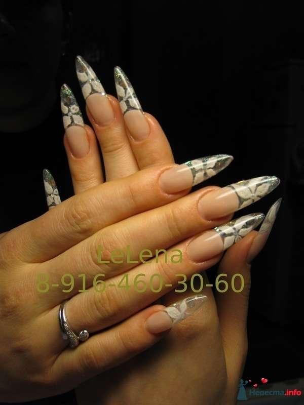 Фото 96450 в коллекции Мои фотографии - LeLena - свадебное наращивание ногтей