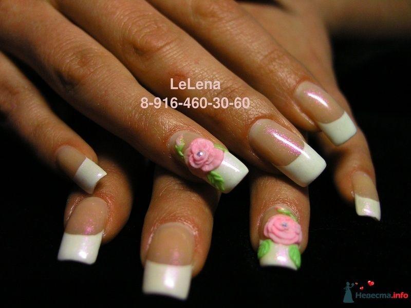 Фото 96457 в коллекции Мои фотографии - LeLena - свадебное наращивание ногтей