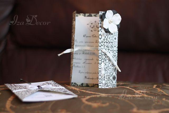 Фото 846819 в коллекции Свадебные пригласительные - IzaDecor  - дизайнерские приглашения на свадьбу