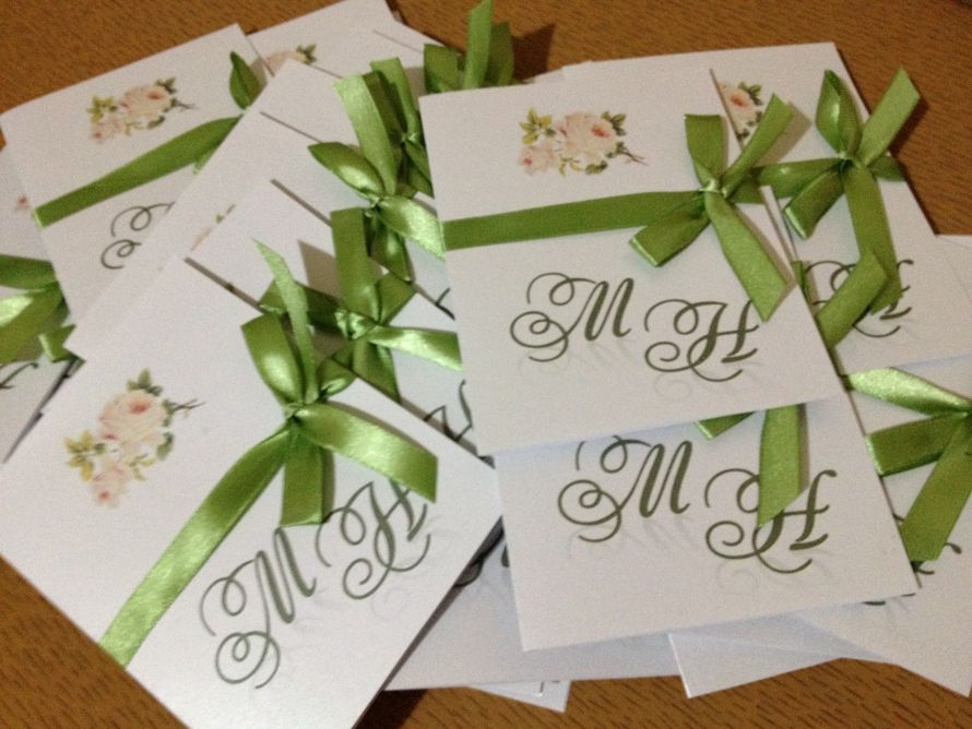 Фото 1516881 в коллекции Свадебные пригласительные - IzaDecor  - дизайнерские приглашения на свадьбу