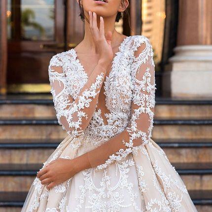 Свадебное платье Шанталь от Кутюр Кристал Дизайн