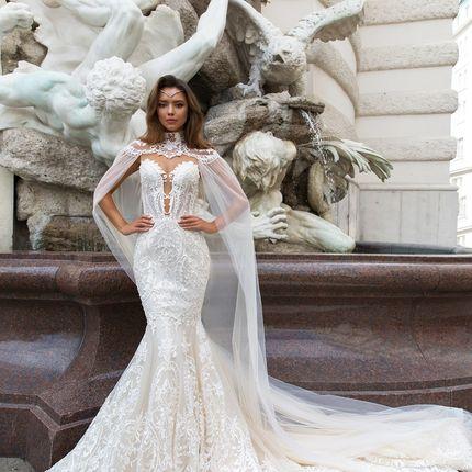 """Свадебное платье """"Джиа"""" Кристал Дизайн"""