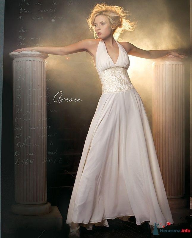 Белое летящее платье Аврора от LeRina 42-46 размер, 2000р прокат+4000р. залога - фото 101244 Платье для Золушки - прокат свадебных платьев