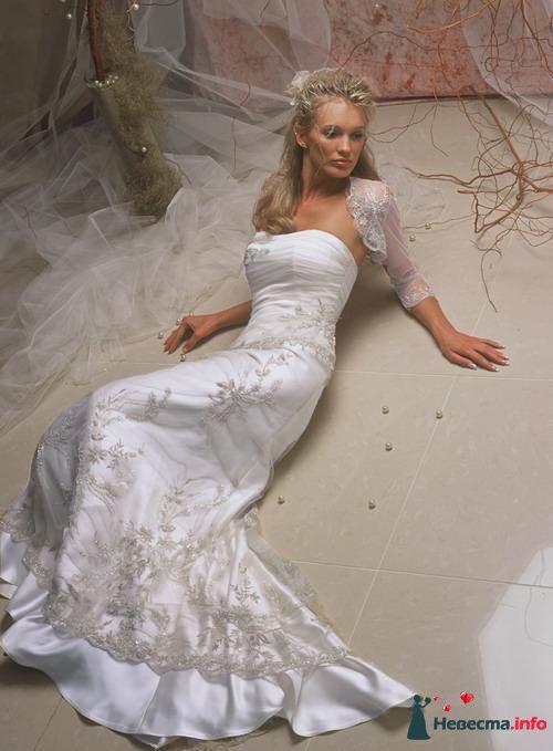 Papilio Нефрит - 40-42 размер - прокат 5000р +5000р залога - фото 114648 Платье для Золушки - прокат свадебных платьев