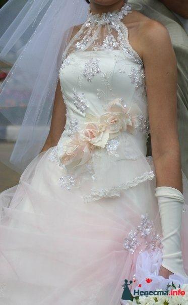 платье Вирджиния 18 Оксаны Мухи - 42-44 размер, прокат 4000р +5000р залог - фото 118743 Платье для Золушки - прокат свадебных платьев