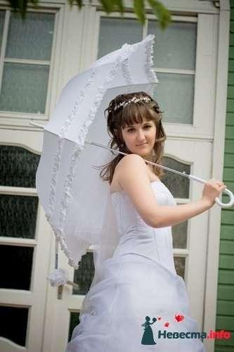 Фото 124027 в коллекции Зонтики, веера,маски - Платье для Золушки - прокат свадебных платьев