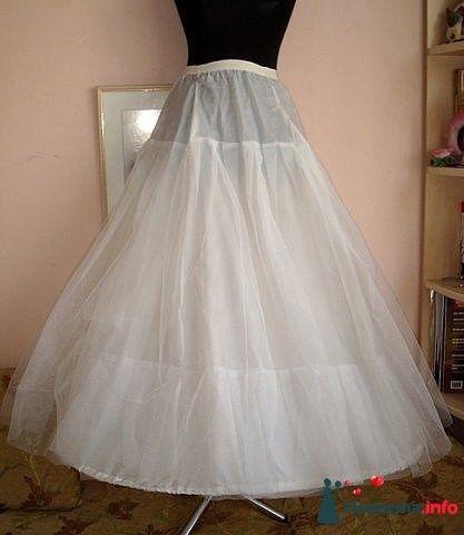 одно гибкое кольцо внизу + жёсткий фатин - фото 125385 Платье для Золушки - прокат свадебных платьев