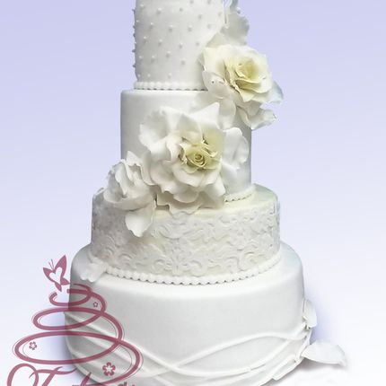 """Торт """"Свадебное настроение"""""""
