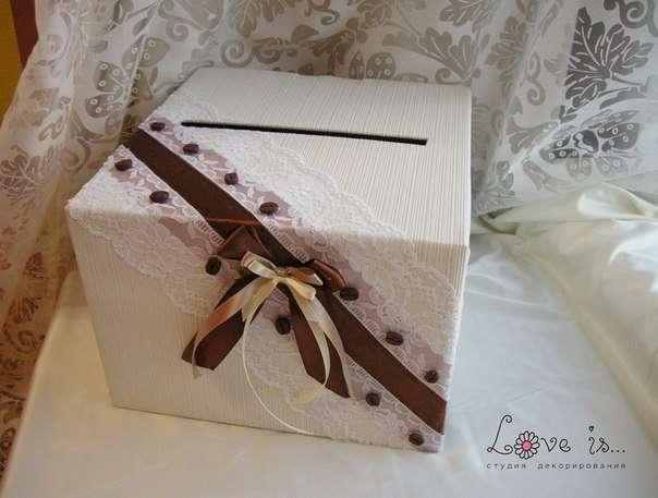Как сделать коробку для подарков на свадьбу