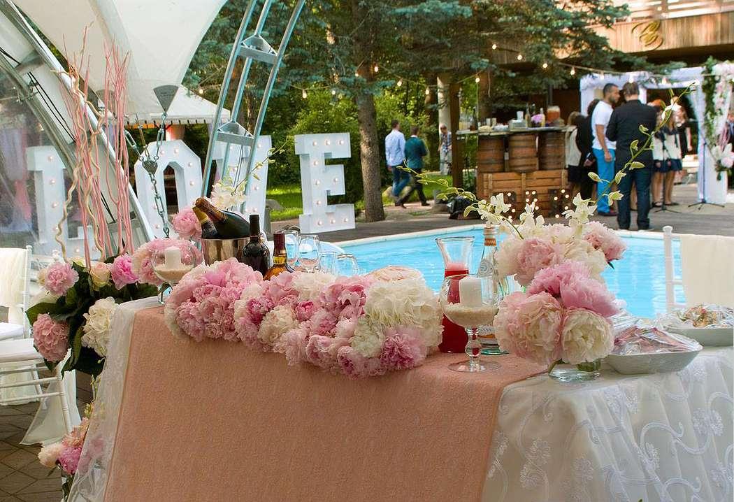 Свадьба в загородном клубе Casablanca - фото 17579558 Дизайн-студия Nommo