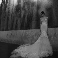 Свадебное платье рыбка inbal dror
