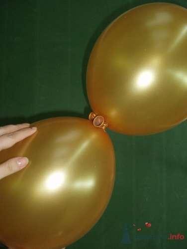 Фото 11474 в коллекции Как  украсить зал шариками самостоятельно - Невеста01