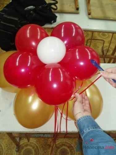 Фото 11484 в коллекции Как  украсить зал шариками самостоятельно - Невеста01