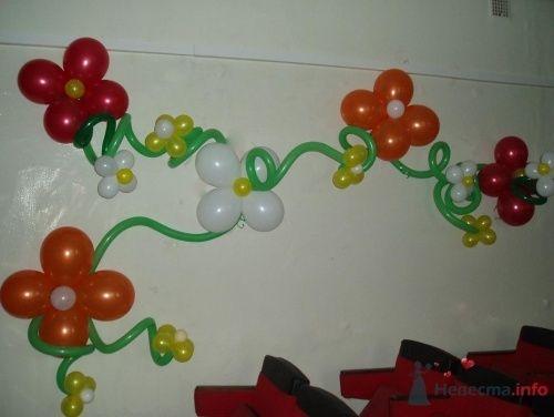 Фото 11494 в коллекции Как  украсить зал шариками самостоятельно - Невеста01