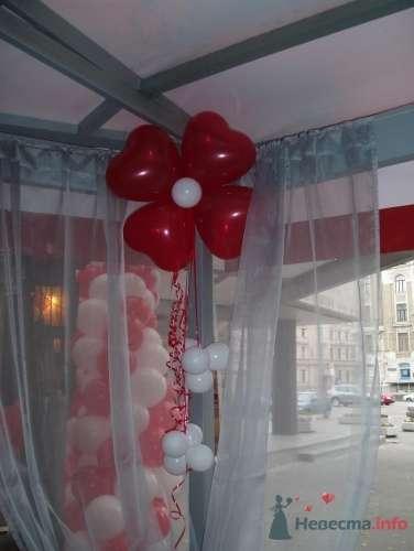 Фото 11497 в коллекции Как  украсить зал шариками самостоятельно - Невеста01