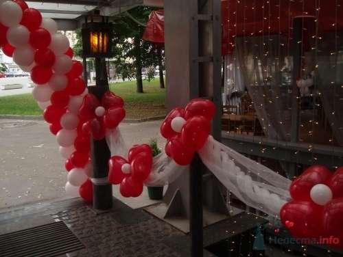Фото 11498 в коллекции Как  украсить зал шариками самостоятельно - Невеста01
