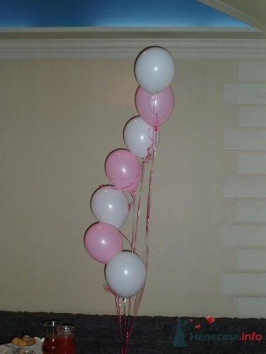 Фото 16365 в коллекции Как  украсить зал шариками самостоятельно - Невеста01