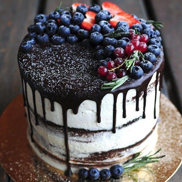 Украсим торт фото
