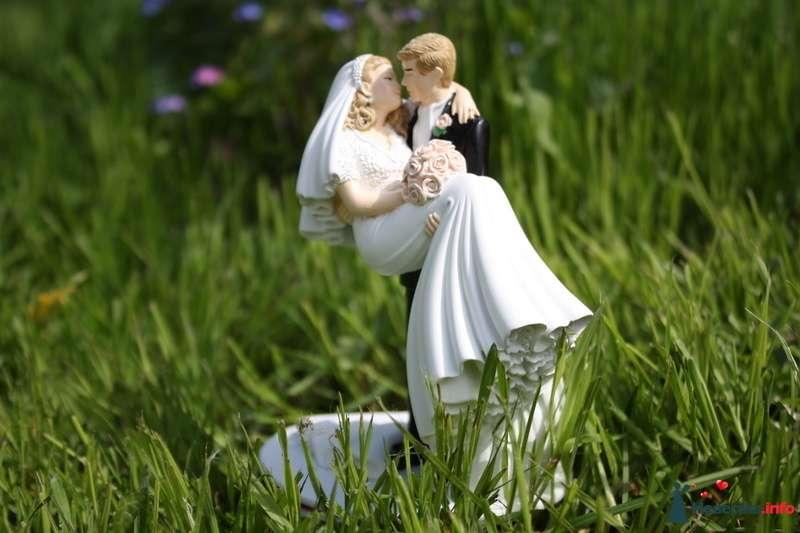 Фото 113456 в коллекции Мои фотографии - Фигурки на свадебный торт
