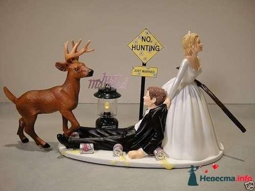 Фото 113460 в коллекции Мои фотографии - Фигурки на свадебный торт