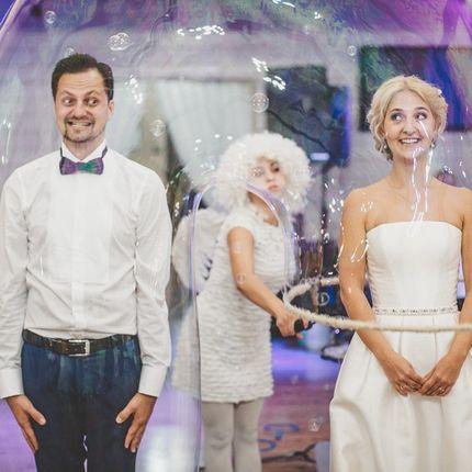 Шоу мыльных пузырей 30 минут - 1 артист
