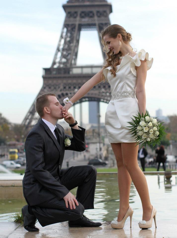 Свадьба в Париже: фото и видео процесса, сценарий 24
