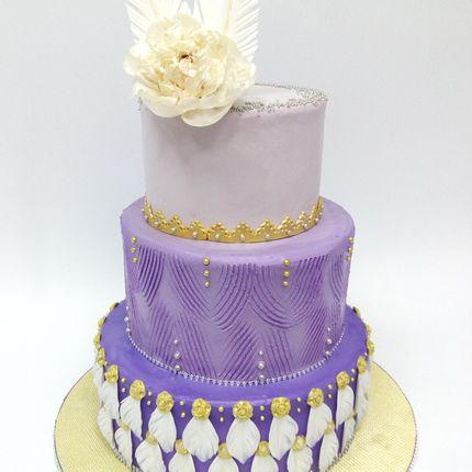 Безмастичный свадебный торт, цена за 1 кг