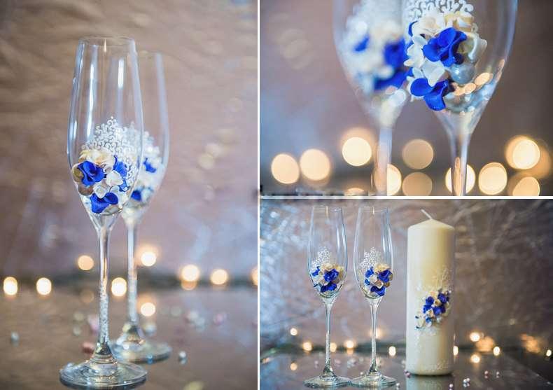 Фото 1041143 в коллекции Бокалы - Свадебные аксессуары от WeddingDecor