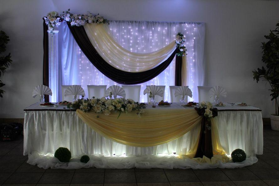 украшение зала на свадьбу тканью видео которым