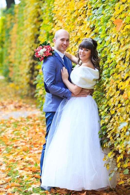 Свадебная прогулка в Екатерининском парке. Осенняя свадьба. - фото 3794821 Фотограф Петров Максим