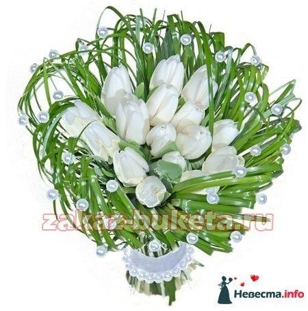 Белый - тюльпаны - фото 124685 Zmeika
