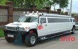 """Хаммер H2 Стрейч 2007 г. белый (дискотека) - фото 217 """"Ника"""" - свадебные лимузины и авто"""