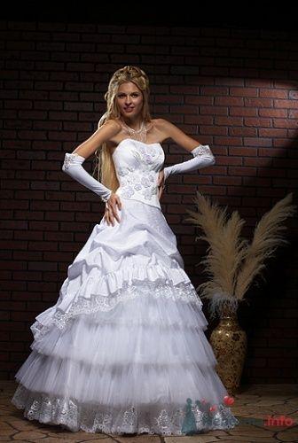 """Очаровательное свадебное платье 13500 руб. - фото 3578 """"Svadbasale"""" - свадебные, вечерние платья"""