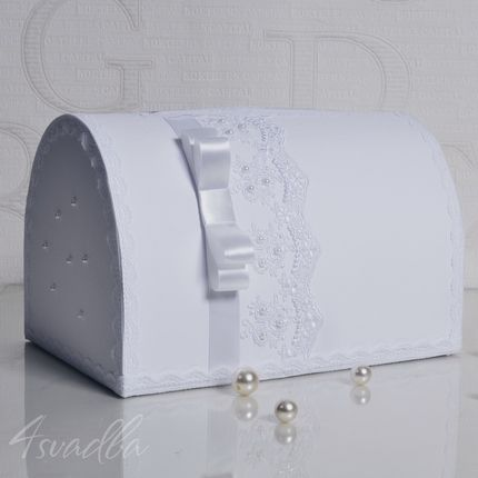 Сундучок для подарков из дизайнерского картона