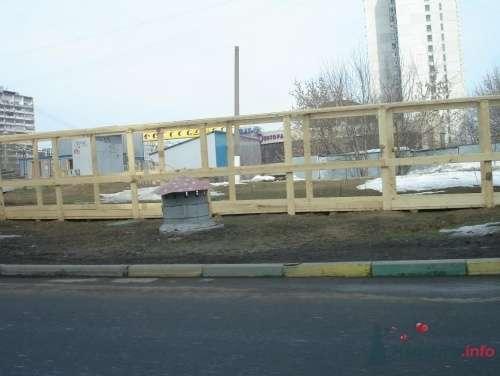 стройка перед рестораном Зазеркалье - фото 13640 Теша
