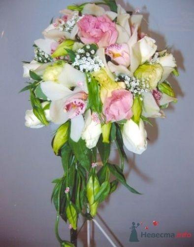 Фото 19989 в коллекции букеты с орхидеями - Теша