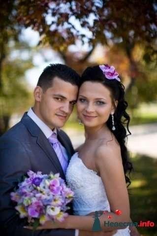 Фото 107255 в коллекции Мои фотографии - Хабарова Марина - прическа и макияж на свадьбу