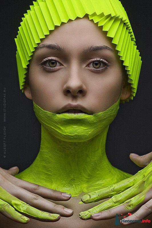 Фото 109929 в коллекции Творческие make-up работы - Хабарова Марина - прическа и макияж на свадьбу
