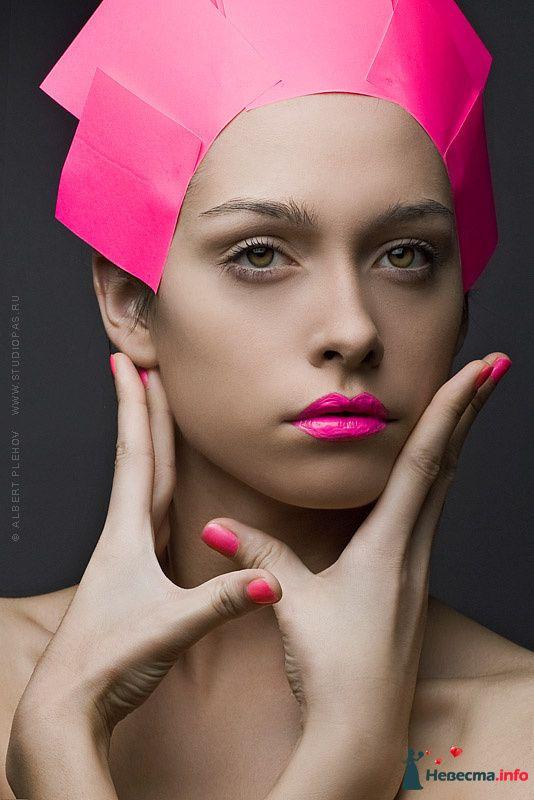 Фото 109932 в коллекции Творческие make-up работы - Хабарова Марина - прическа и макияж на свадьбу