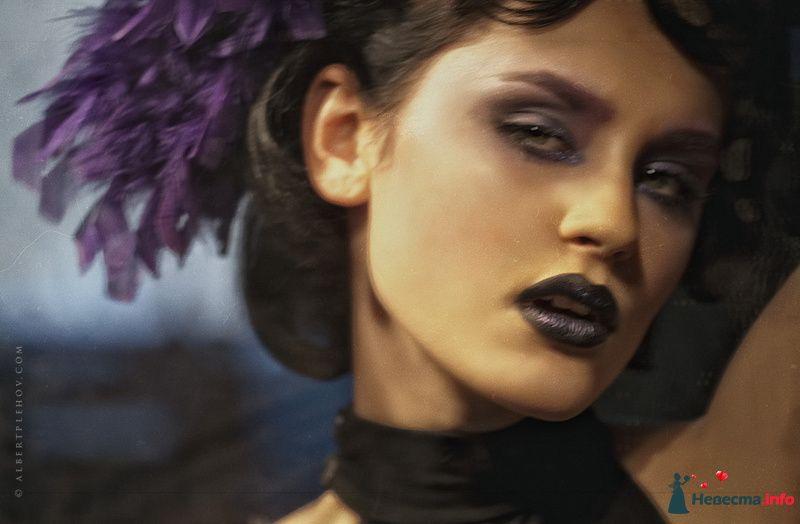 Фото 109935 в коллекции Творческие make-up работы - Хабарова Марина - прическа и макияж на свадьбу