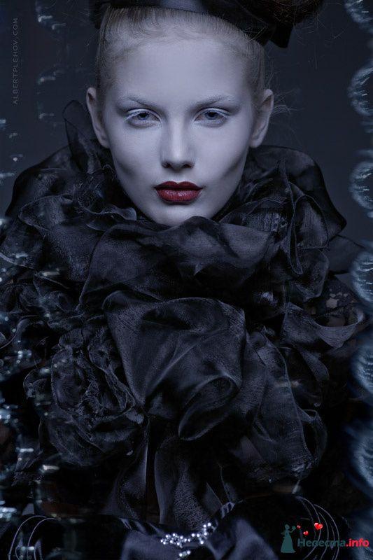 Фото 109941 в коллекции Творческие make-up работы - Хабарова Марина - прическа и макияж на свадьбу