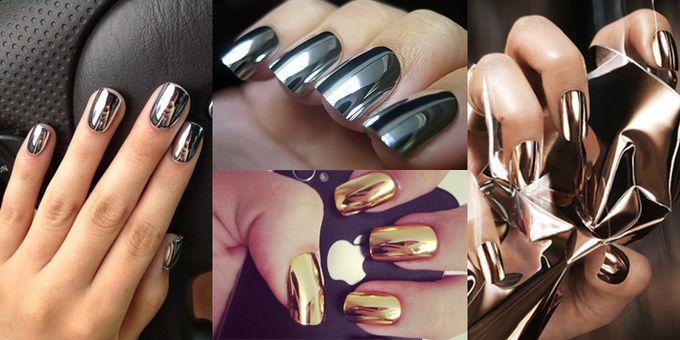 Глянцевые лаки для ногтей