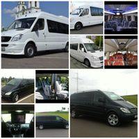 микроавтобусы до 20 мест на свадьбу для гостей и молодожен