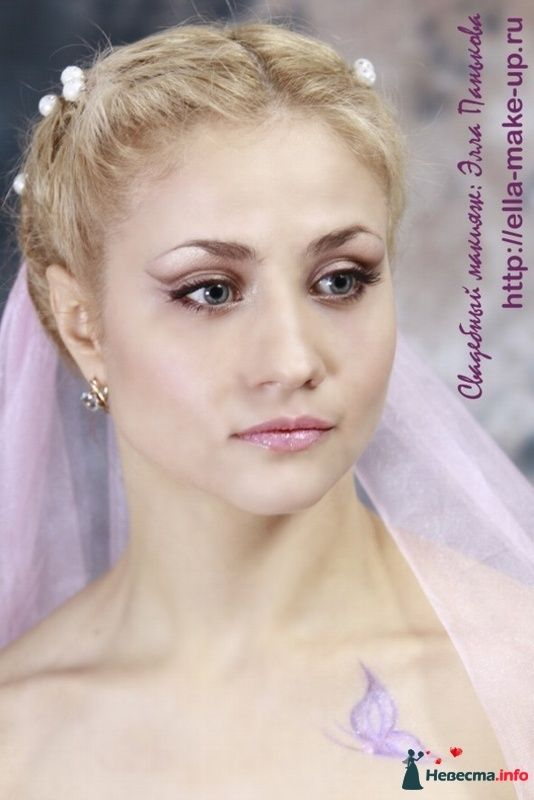свадебный макияж make-up невесты в курске - фото 110989 Визажист Панькова Элеонора
