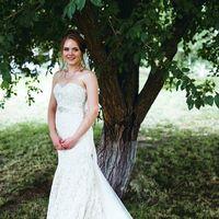 Ильвира в свадебном платье Грейс от Gabbiano