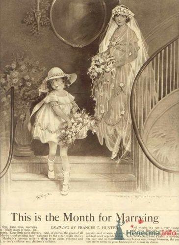 Фото 14106 в коллекции Винтажные платья - Свадебная мастерская ОП-позиция