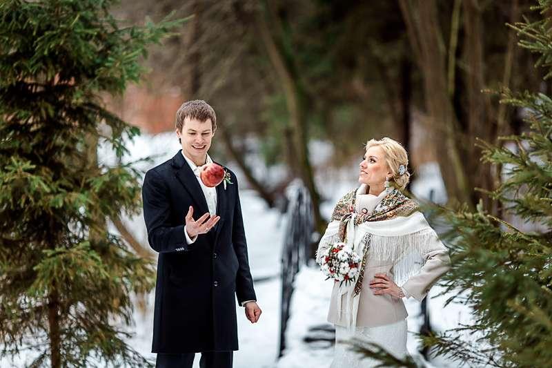 зимняя свадьба. фотосессия в стиле рустик - фото 3536367 Фотограф Янна Левина